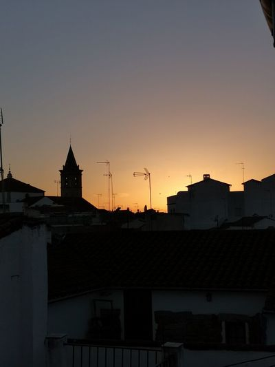 Cordoba Spain On Sale Atardecer 17.62° Politics And Government City Cityscape Sunset Golf Club Silhouette Business Finance And Industry Sky Architecture Historic Clock Tower Tower Bell Tower Tall