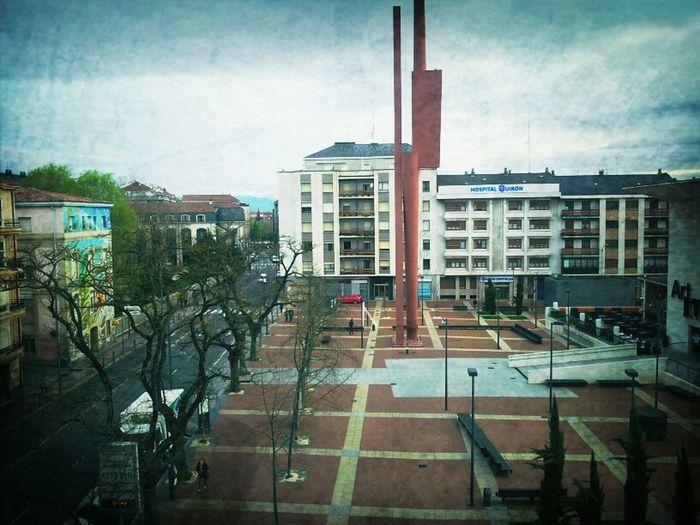 ¡¡Buenos días desde Vitoria!!