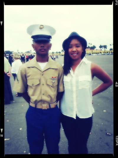 words cannot describe how proud I am of my boyfriend:) I AM IN LOVE WITH A US MARINE!!!