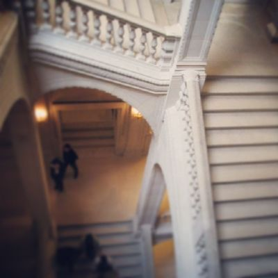 Puzzle  Louvre Paris France Trip Stairs Architecture Labyrinth