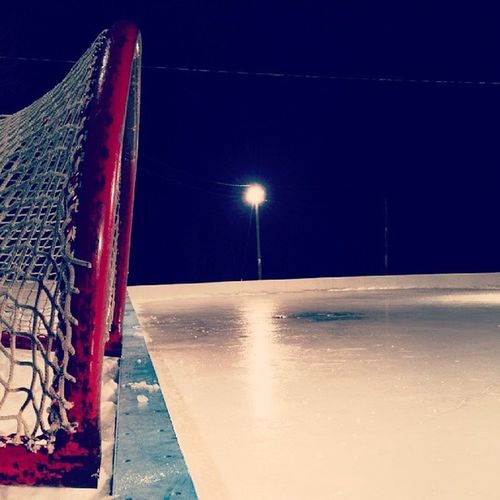 Almost April. Respect to the people maintaining the ice out here. Ottawa Odr Hockey Kars