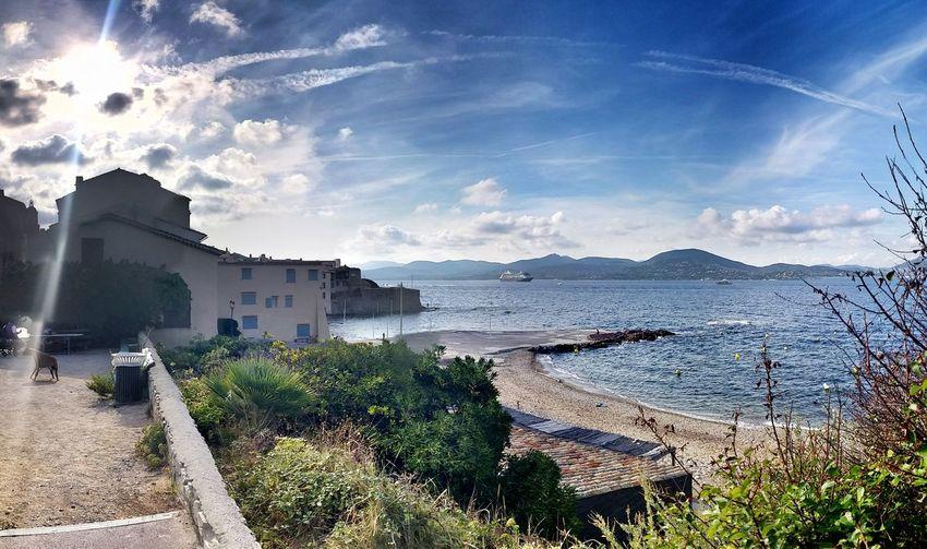 Saint Tropez Vue sur La Pesquiere La Cote D'Azur Littoral
