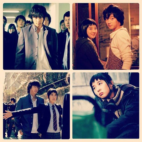 """""""In our next life time, don't be my sister. You can be really really ugly, just please don't be my sister."""" Kinda disturbing movie but great nonetheless. XD MOVIE Awolvestemptation Temptationofthewolves Kmovie kangdongwon classic <3 noona"""