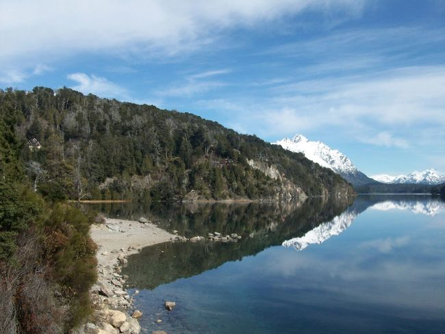 Bariloche, Argentina Beauty In Nature Calm Lake Landscape Mountain Nature No People Non Urban Scene Outdoors Reflection Scenics Tranquil Scene Tranquility Water