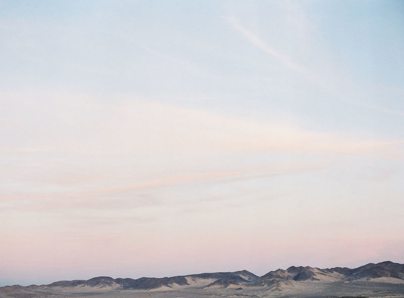 Mojave Desert California. Taken with Fuji Film. Arid Climate Beauty In Nature Bohemian Film Photography Fuji Fuji400h Fujifilm Hipster Horizon Over Land Landscape Mojave Desert Mojave National Preserve Mountain Mountain Range No People Outdoors Pastel Sky desert mountains Rural scenic Sky Tranquil Scene Tranquility Twilight Twilight Desert desert