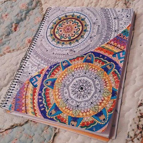 ⭐ ying yang ⭐ Mandala Zetangleart Drawing Myown Desing