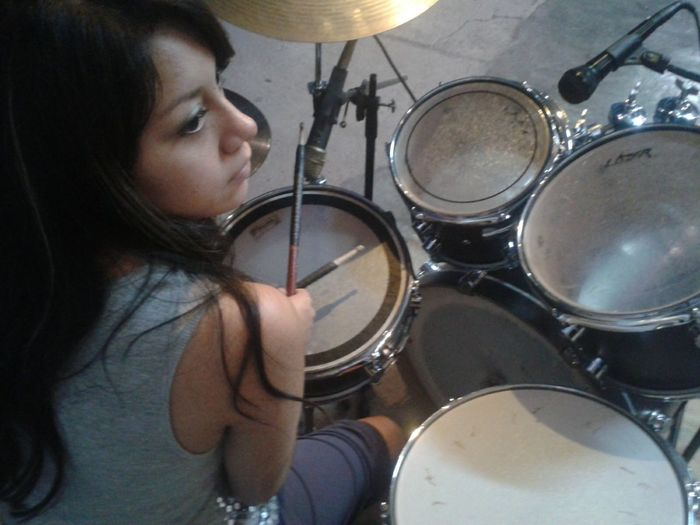 Drum - Percussion Instrument Ensayos God Is Good JustMe Love ♥ Real Music Taking Photos Women Drummers