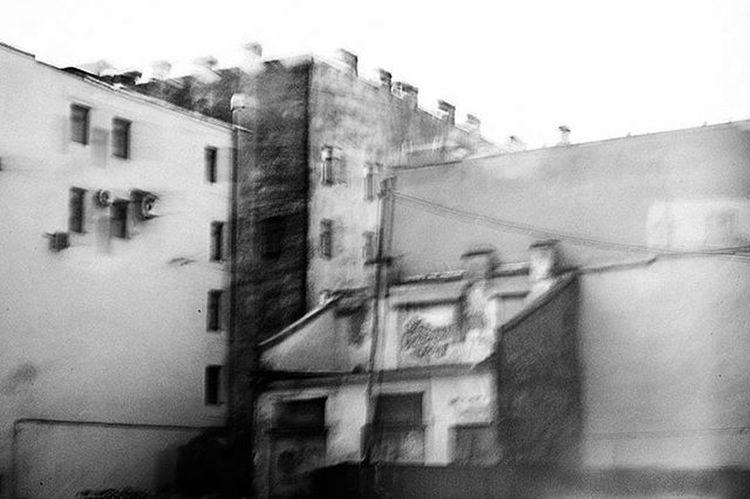 Bnwfoto Bnw_life Bnw Bnwcity Питер а_над_моей_головою_санкт_петербургское_небо