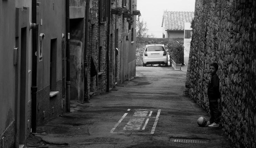 Taking Photos Blackandwhite Children Italy
