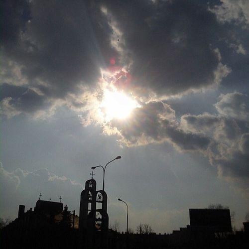 Słońce Nareszcie Ja Oślepiona