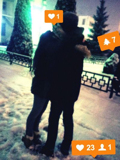 Nightphotography Love ♥ Romantic❤ Kiss Hugs Friends ❤ First Eyeem Photo