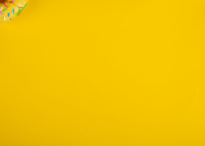 Full frame shot of multi colored yellow wall