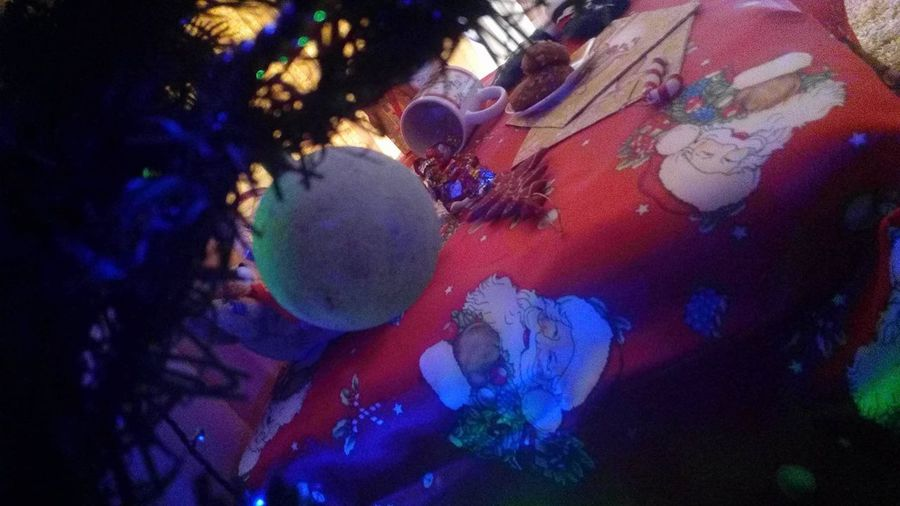AllIWantForChristmas Home Sweet Home Light Merry Christmas! NewYear Santa Claus Wishes Chrismastime Christmas Decoration Close-up Colorfull Familytime👪👧👨👩 Happiness ♡ Indoors  Night No People Themostwonderfultimeoftheyear Tree