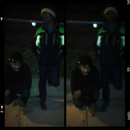Me n lo be on the block , dam near everyday