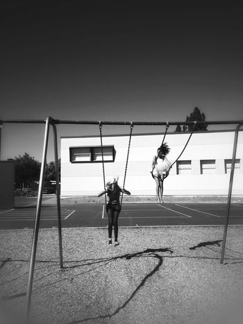 School is out! EyeEm Best Shots Blackandwhite Shootermag Bw_collection Playground