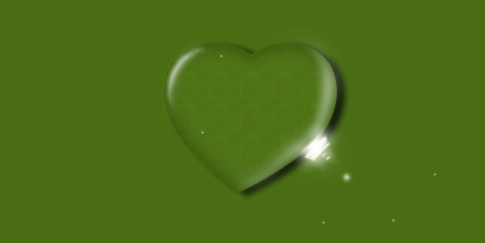 Directly above shot of heart shape in plate