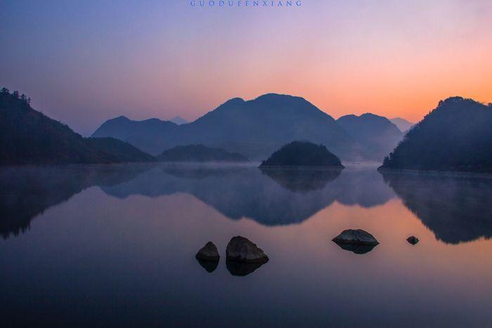 一个等待的早晨 Scenery Sunrise