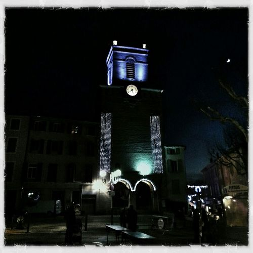 Night Landscape #hello All ... Fini Instagram ... Je Sais Pas Mais On Assure Les Arrueres  #church