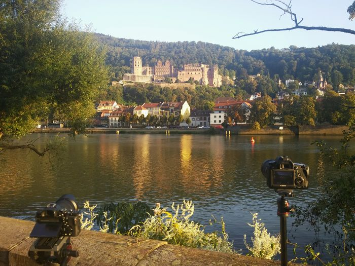 Double team Heidelberg Castle German Germany GERMANY🇩🇪DEUTSCHERLAND@ River Canon Sony A7s 6D Shooting Longexposure Photo Photography Reflection Architecture Tranquility Travel Destinations Nature Tranquil Scene
