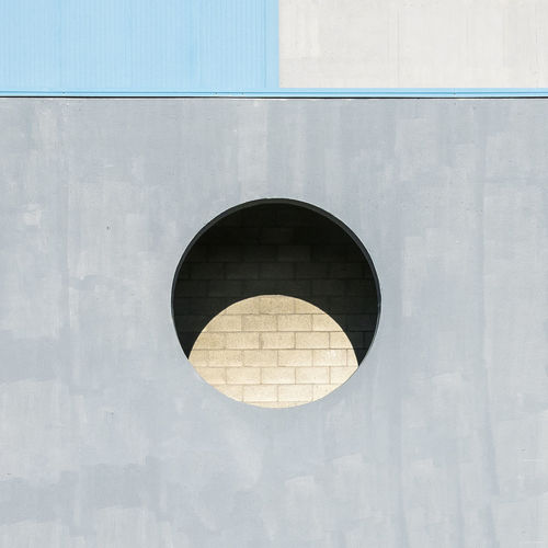 Circle Geometric Shape Built Structure Shape Architecture Building Exterior Design No People Wall - Building Feature Day Wall City Outdoors Hole Window Close-up Sunlight Glass - Material Reflection Backgrounds My Best Photo The Mobile Photographer - 2019 EyeEm Awards