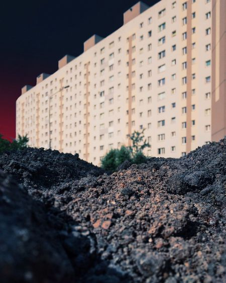 The Creative - 2018 EyeEm Awards Modernist Architecture Dirt Soil Building Exterior Building Nature Low Angle View Construction Industry