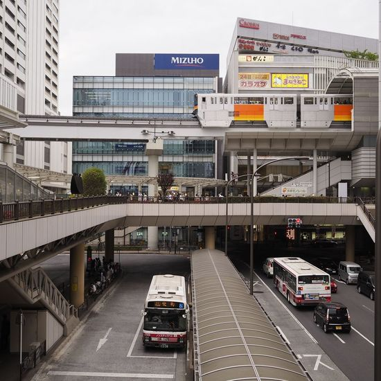 Transportation Cityscape Cloudy Monorail  Taking Photos Taking Pictures Vanishing Point Monorail  Streetview 消失点 Streetphotography Olympus Single Focus Manual Focus