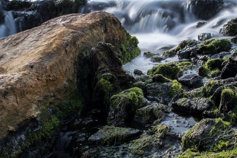 Water Motion Long Exposure Nature Rock - Object No People Day Outdoors Stones And Water