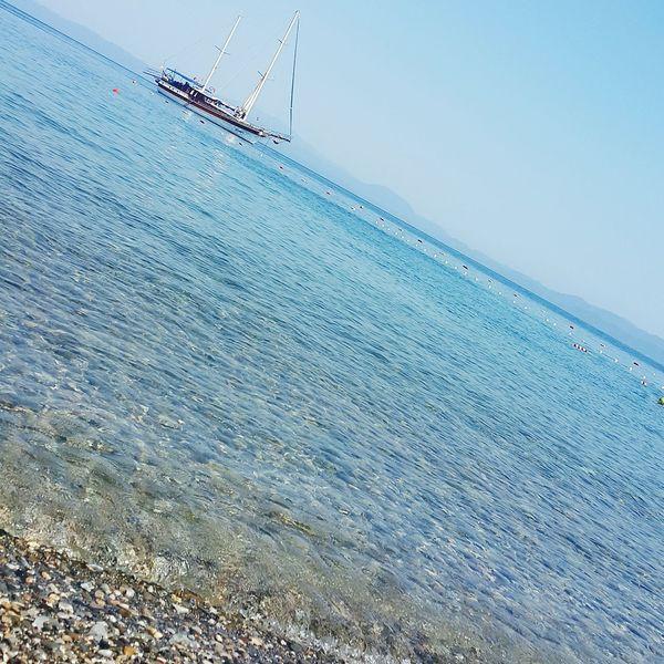 Oren Sea Keramos Mugla Oren Yatch Seaside Sea And Sky Nature Sunandsea Blue Sea Blue Turkey Shades Of Blue