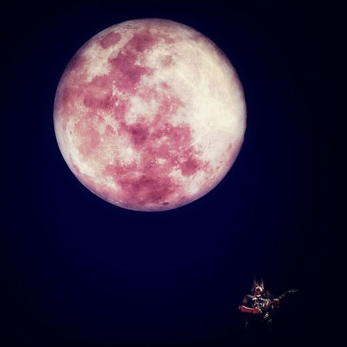 bloody moon 600mm Supermoon 2013 Photo Concept Stevi Item