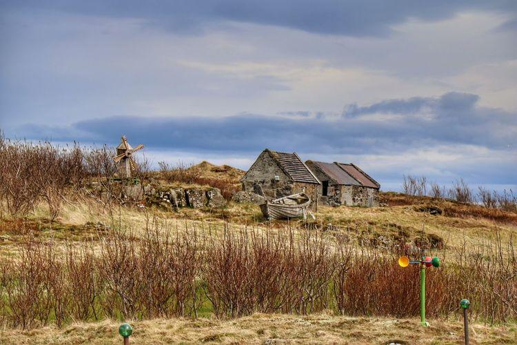 Outdoors Sky Cloud - Sky Stafsnes Hvalsnes Suðurnes Rural Scene Beauty In Nature Landscape Nature Reykjanes