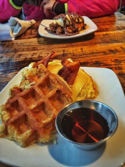 Brunch Happiness Mother & Daughter Waffle