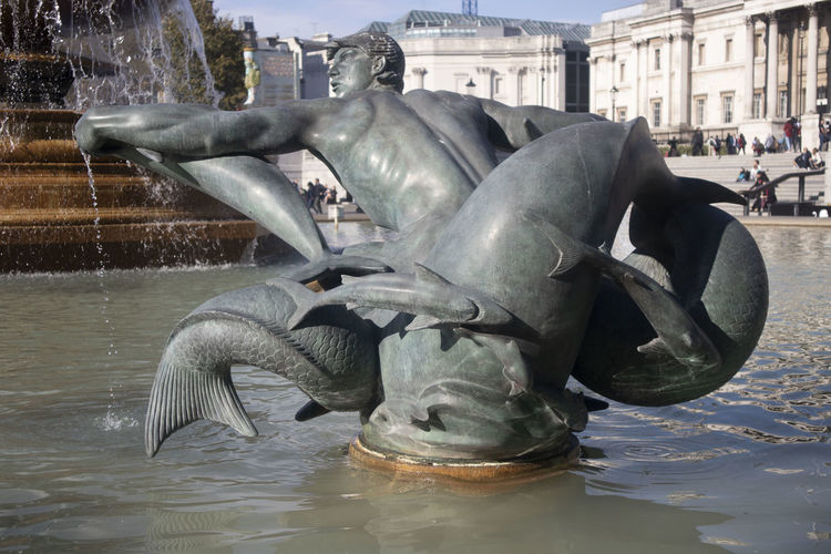 Fountain on