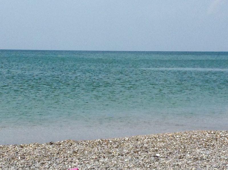 горизонт Море лето
