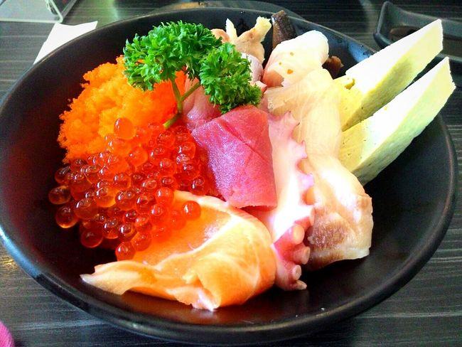 Chirashi don Foodspotting Foodstagram Food Photography Foodporn Japanese Food Sashimi  Chirashi Fish Foodgasm Foodphotography