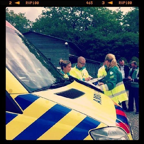 Twee dagen Copi training zitten er weer op! Veel geleerd, veel gekachen en veel gedaan! Brandweer Ambulance Politie