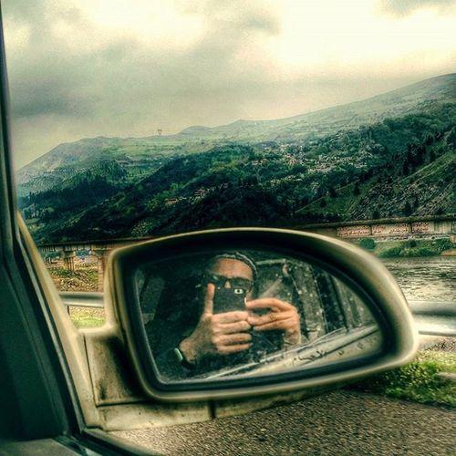 ایران ایرانگردی سفر جاده جاده_رشت طبیعتگردی آسمان  گیلان Iran Iranpic Gilan Rashtroad Road Mirror Sky Nature Roadlife Trip