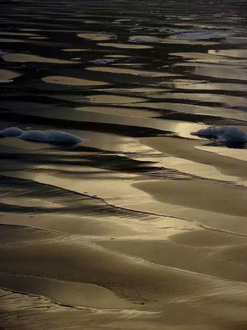 Seaside, Oregon at sunset Enjoying Life