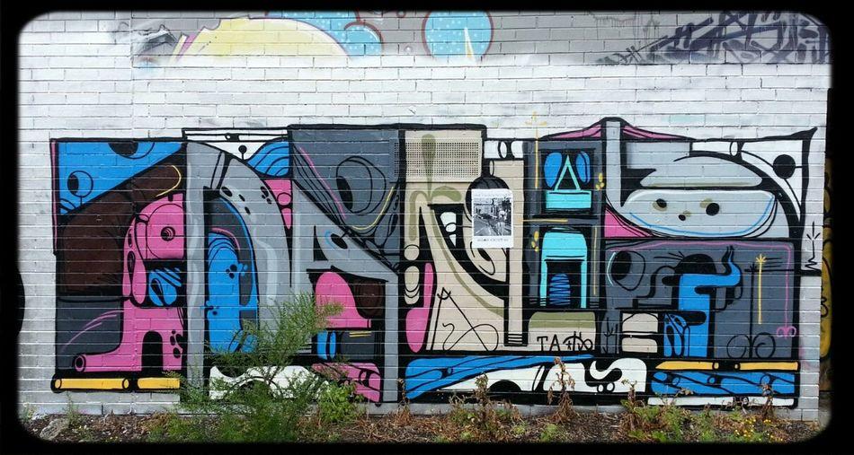 Burner Melbourne Graffiti in Brunswick