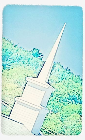 Praising The Lord Sky Streetphoto_color Countryside I love the church's steeple