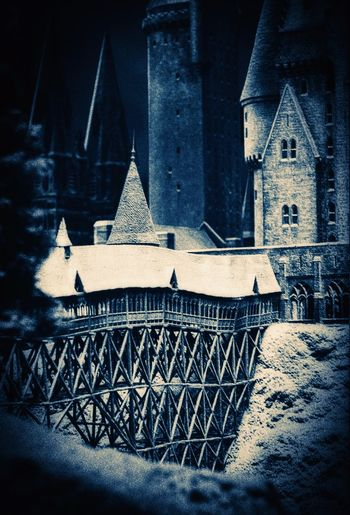 The light is shinning in every dark place..... Castle Winter Bridge Harry Potter Watford Warner Bros Studios