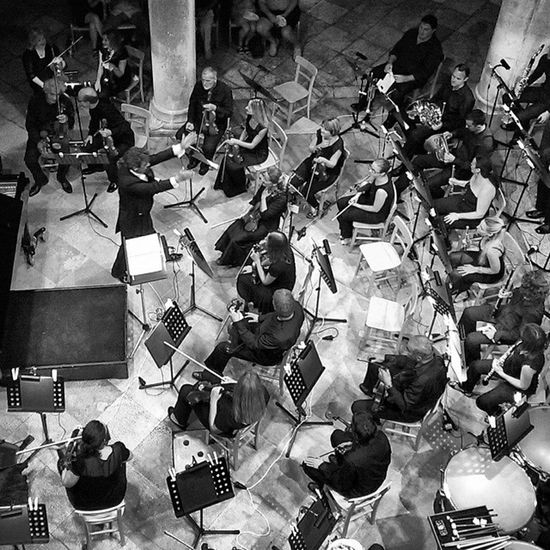 Croatia Dubrovnik Symphony Orchestra Music Concert Luka Sorkočvić Culture Tradition Rector 's Palace Conductor String Brass Wood Percussion Instruments Black_white Bw Amazing Instacool Mono Emotions InstagramCroatia