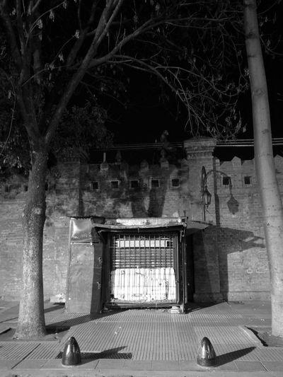 No People Architecture Night Black Background Illuminated Ciudad Autónoma De Buenos Aires Travel Destinations Recoleta Cemetery
