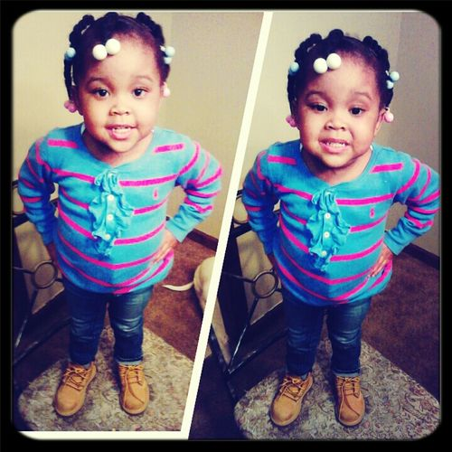 my NyPie With Her Timsss On Lol !! Love HER :)