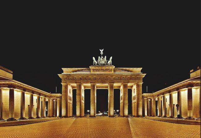Porte De Brandenbourg Berlin Allemagne