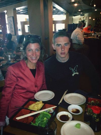 Lunch date with my son :-)