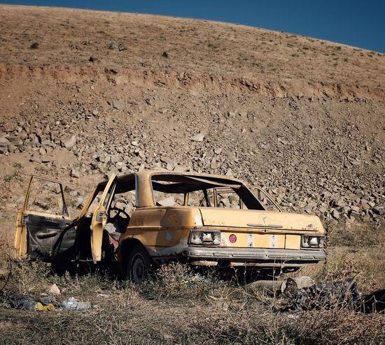 Abandoned Car. Abandoned Places Turkey Fujifilm_xseries FujiX100T