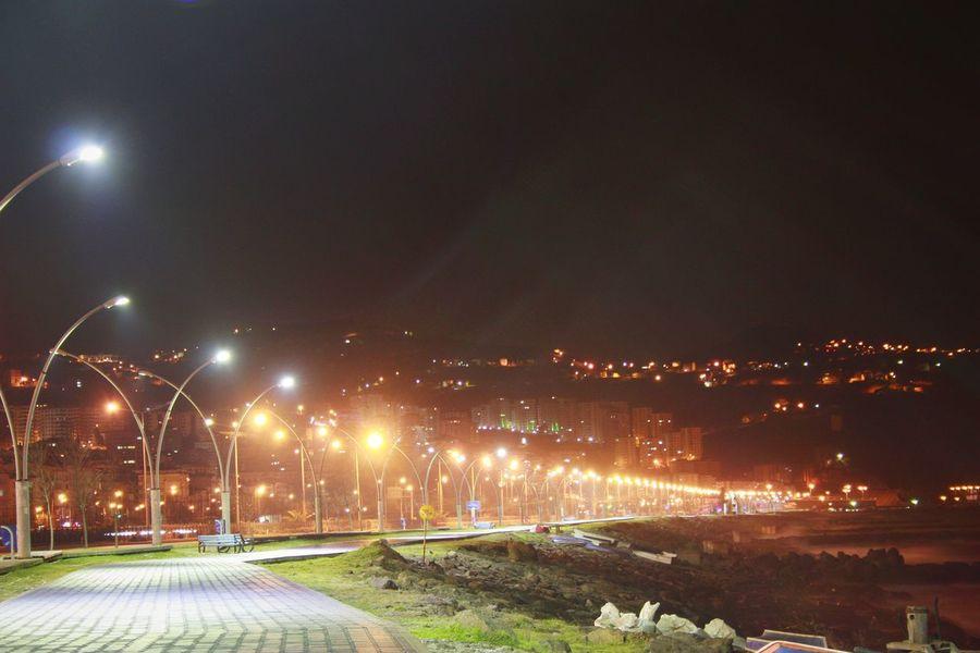 Uzunpozlama Beşirli Sahili Sokakışıkları Geceyolcuları First Eyeem Photo