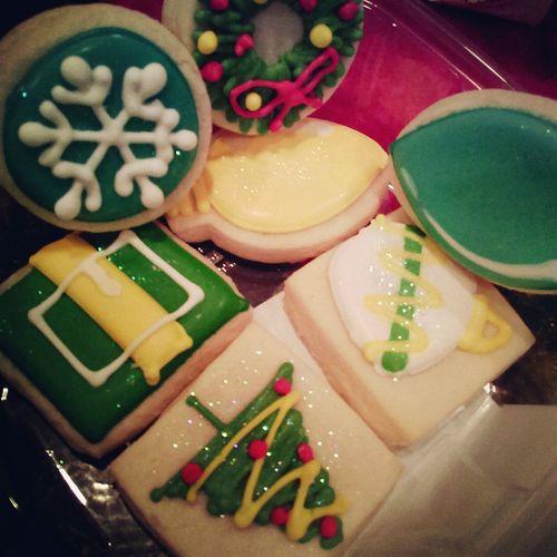 SugarCookies AuntAbbysConfections Holidaytreats Holiday Cookies
