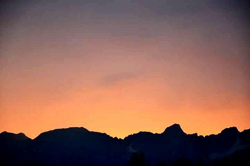 Mountains Sunset Sky Skylovers Skyporn Contre-jour Haute-Savoie  Go Higher