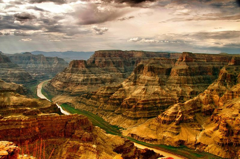 Travel Destinations Scenics Desert Nature No People Landscape Geology Beauty In Nature Physical Geography Outdoors Tranquil Scene Sky Day Grandcanyon Grandcanyonwest Iconic Landmark Travel Photography Nature Beauty In Nature Cloud - Sky